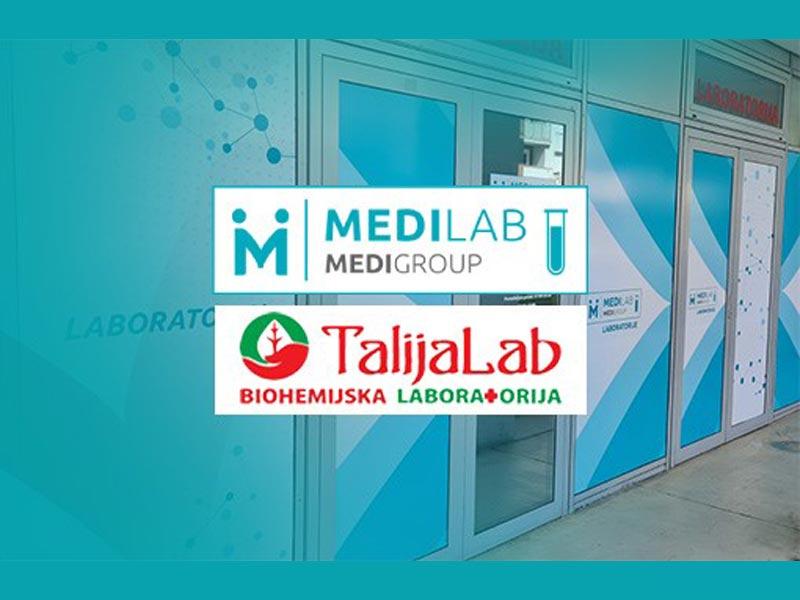 Talijalab laboratorije i MediGroup sistem